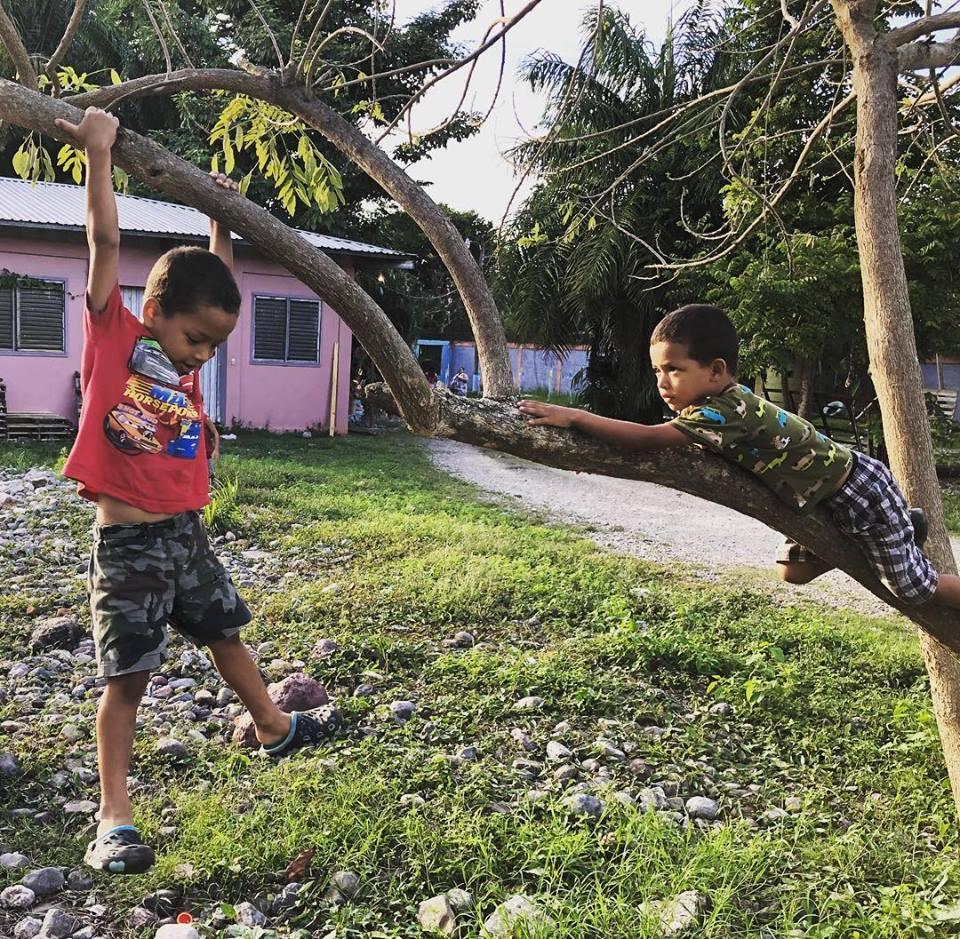ONETrack International - Honduras children playing