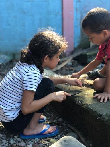 ONETrack International - Honduras children