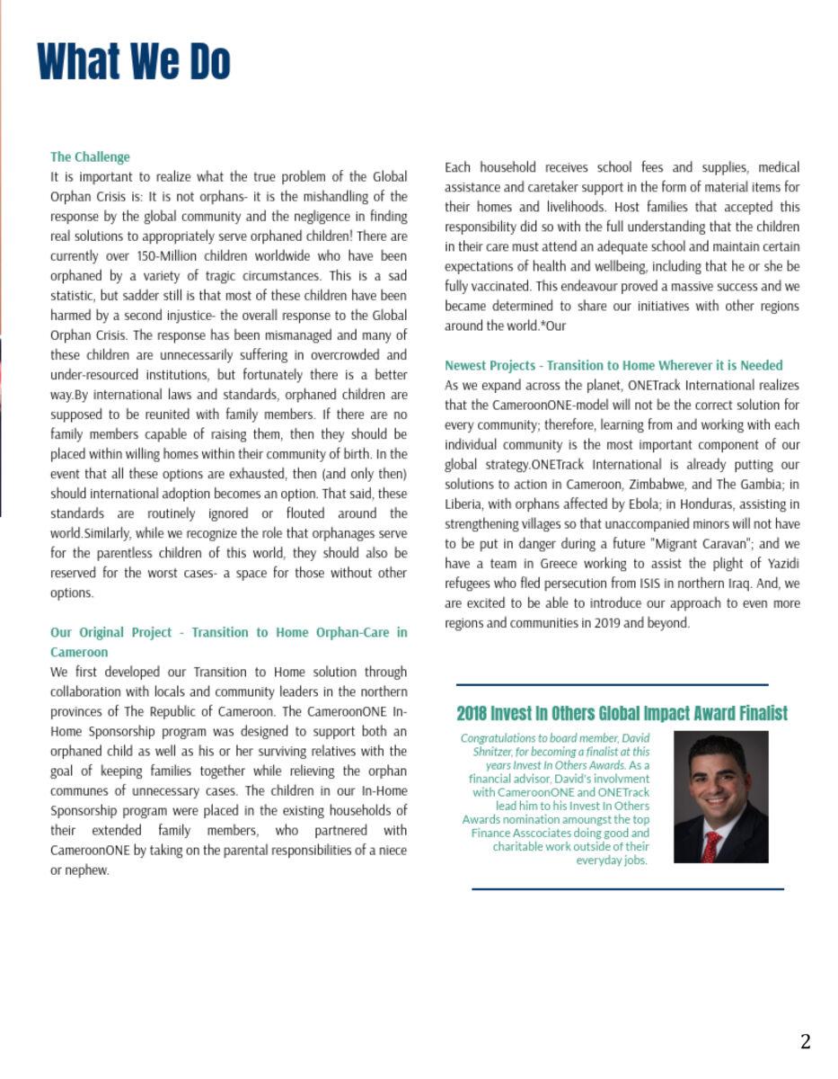 OTI 2018 Impact Report - What We Do