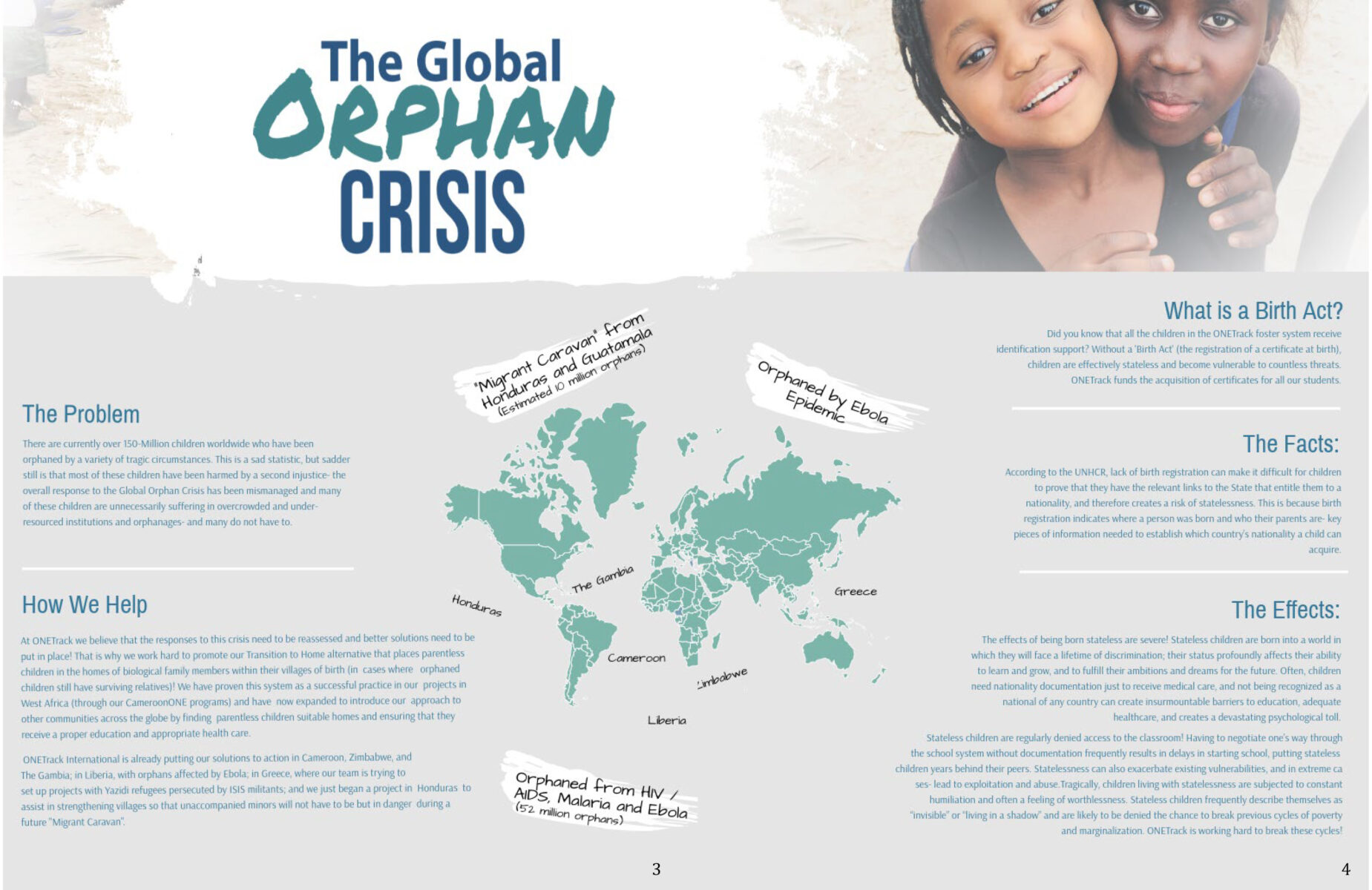 OTI 2018 Impact Report - The Global Orphan Crisis