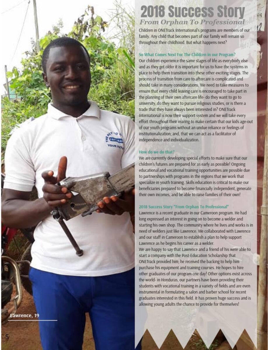 OTI 2018 Impact Report - Success Story