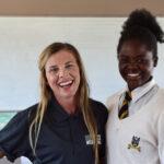 ONETrack International in Zimbabwe - Hilary and Hannah