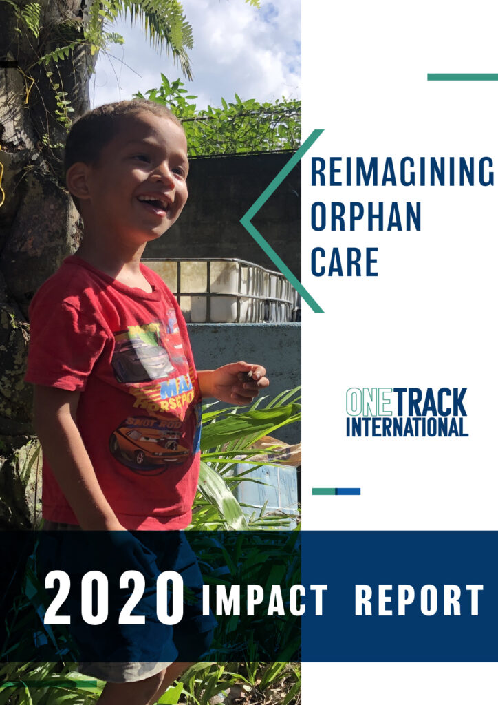 ONETrack International - 2020 Impact Report - Cover