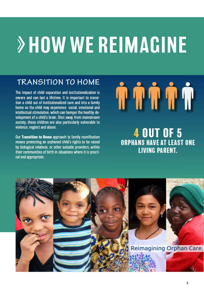 ONETrack International - 2020 Impact Report - How We Reimagine